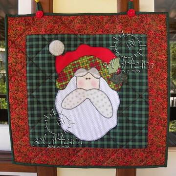 Painel de Natal em Patchwork