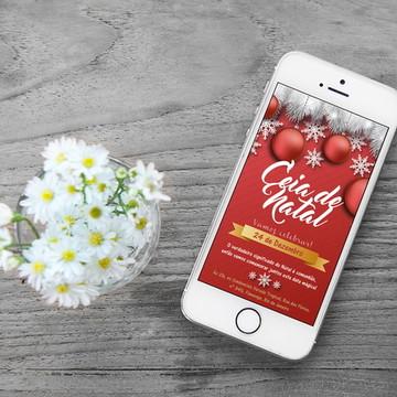 Convite - Ceia de Natal 3
