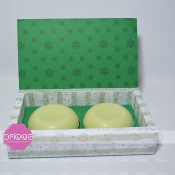 #0339 : Molde para caixa de 2 sabonetes redondos