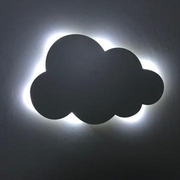 Nuvem Luminosa Decorativa Quarto de Bebê LED