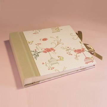 Álbum 26x22cm - 30 folhas (60 pags) até 60 fotos