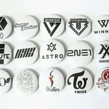 Bottons 38 mm KPop