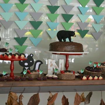 Kit Festa Infantil - Woodland!