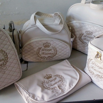 Kit maternidade 5 peças luxo