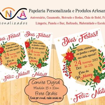 Convite Digital Natal