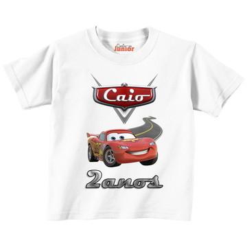 camisa camiseta infantil com seu personagem e nome personali