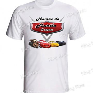 Camiseta personalizada carros disney