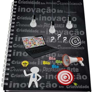 Caderno Personalizado - Profissões - Publicidade