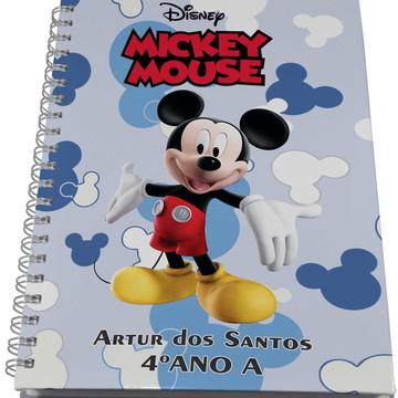 Caderno Personalizado - Mickey