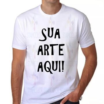 Camiseta Personalizada Com Sua Arte Ou Texto