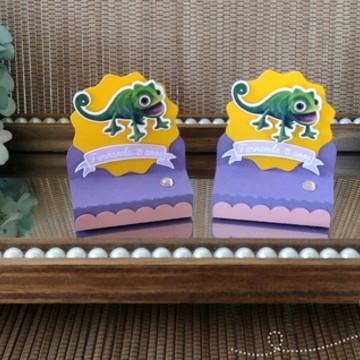 Porta chocolate Enrolados - Rapunzel
