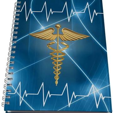 Caderno Personalizado Universitário - Medicina