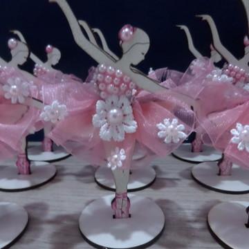 Lembrancinha de bailarina com perolas /decoraçao bailarina