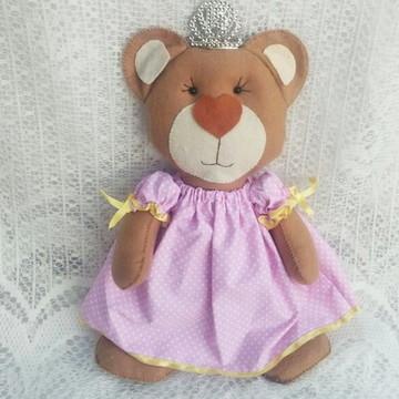 Ursa Princesa para Decoração