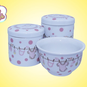 Kit higiene porcelana varalzinho 136