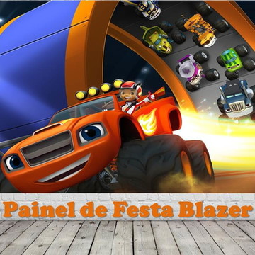 Painel de Festa Blazer