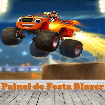 Painel de Festa Blaze Monster