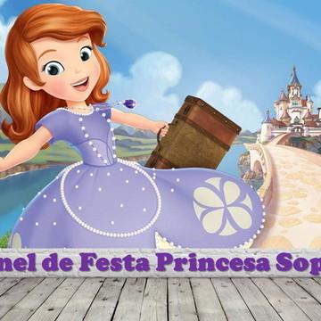 Painel de Festa Princesinha Sophia