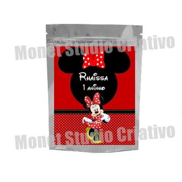 Saquinho Metalizado - Minnie 2