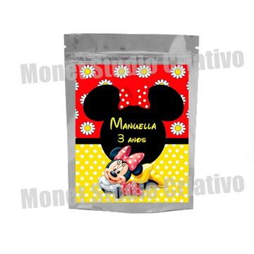Saquinho Metalizado - Minnie 3