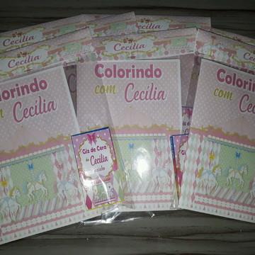 Livrinho de Colorir Carrossel Encantado