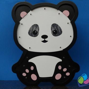 Luminária de Led Panda Quarto de bebe MDF