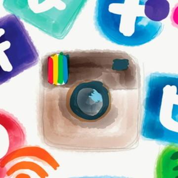 Painel Festa Rede Social 200x100M