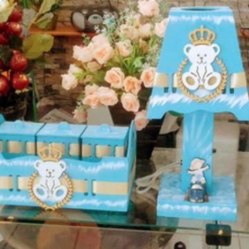 Kit Bebê Azul Príncipe Ursinho