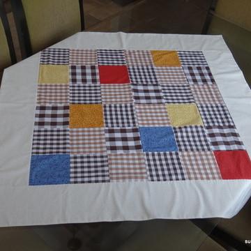 Toalha de mesa quadros coloridos