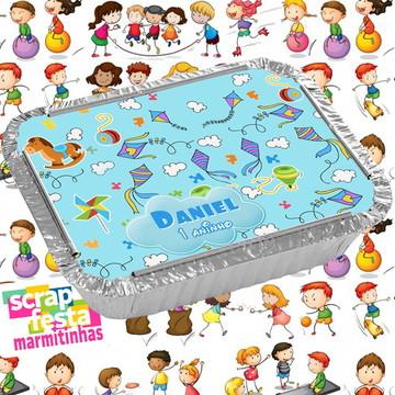 Marmitinha Personalizadas Festa Brinquedos