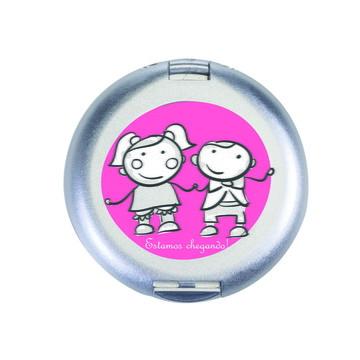 Espelho de Bolsa com espelho 342