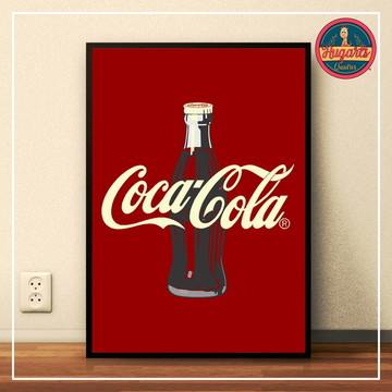 "Quadro ""Coca Cola"""