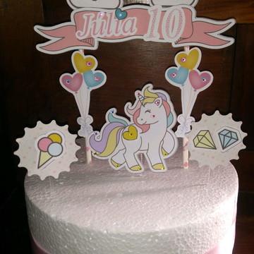Topo bolo personalizado