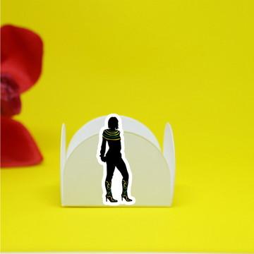 Forminha para doce - silhueta feminina
