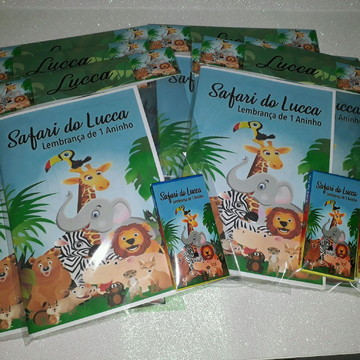 Livrinho de Colorir Safari