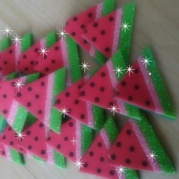 Apliques de melancias em Eva c/10 unidades