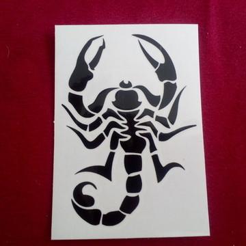 Tatuagem temp mod 83 - escorpião