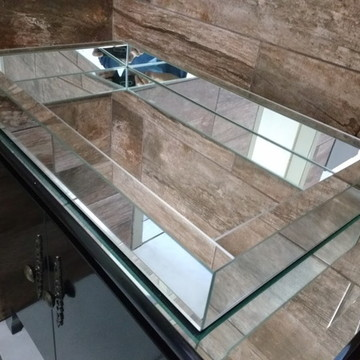 Bandeja Espelho Liso 25 x 40 cm