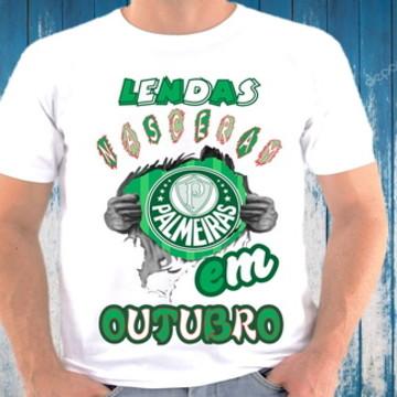camiseta lendas nascem em outubro #088