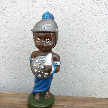 Imagem de Ogum Baby em Gesso