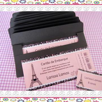 Convite Paris 15 anos