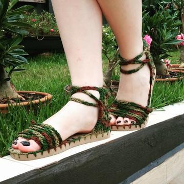 Sandalia Croche