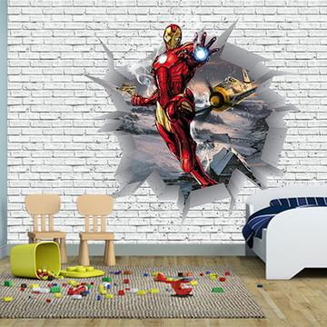 Papel de Parede Decoração dos Vingadores 0035