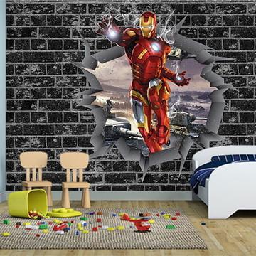 Papel de Parede Decoração dos Vingadores 0030