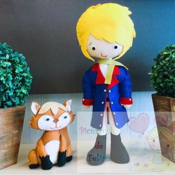 Pequeno príncipe e raposa