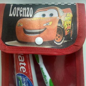 Porta escova e Pasta de Dente Personalizado