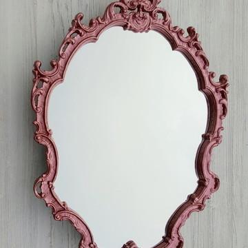 espelhos decorativos para quarto rosé