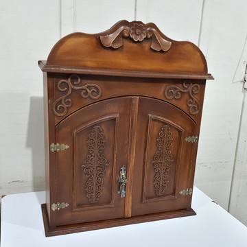 Oratório barroco castanho