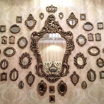 Kit De Espelhos Com Molduras Em Resina PopDecorei