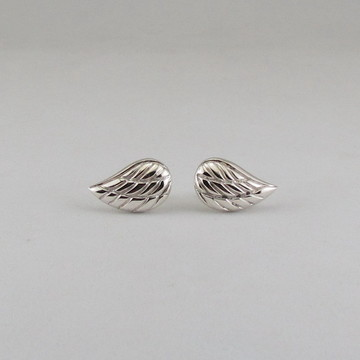 Brincos asas de prata
